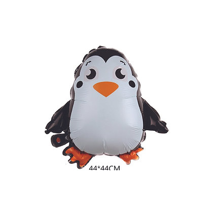 Balon Foil Penguin Kartun