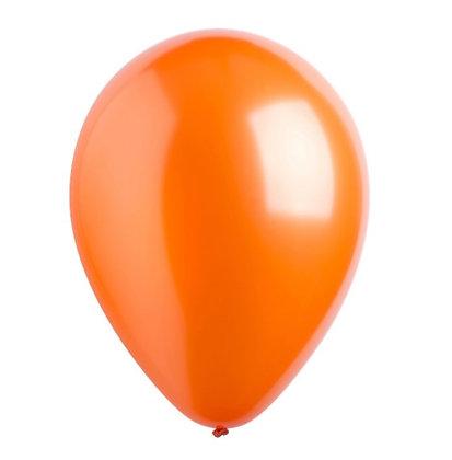 "Balon 12"" Orange Metalic"