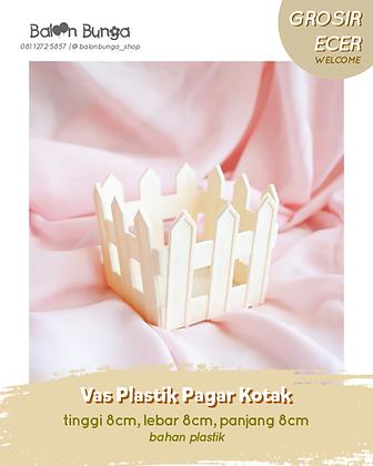 Vas Plastik Pagar Kotak