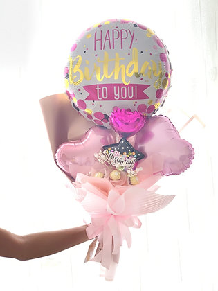 Hand Bouquet Balloon Foil