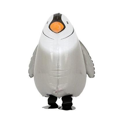 Balon Foil Penguin Walking Pet