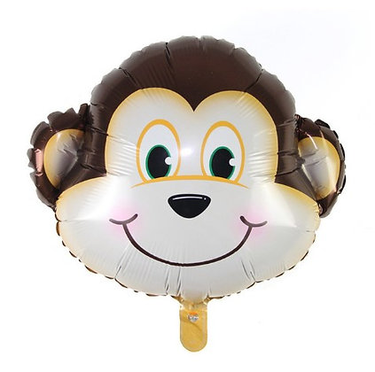 Balon Foil Kepala Monyet