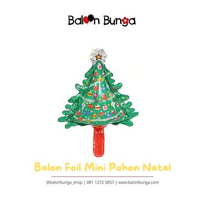 Balon Foil Mini Pohon Natal