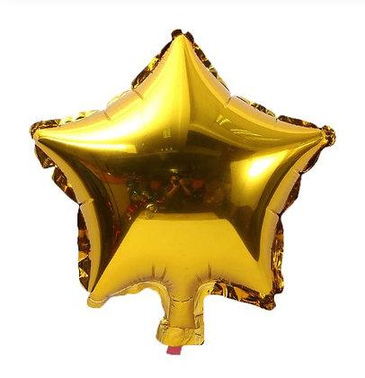 Balon Foil Bintang Gold