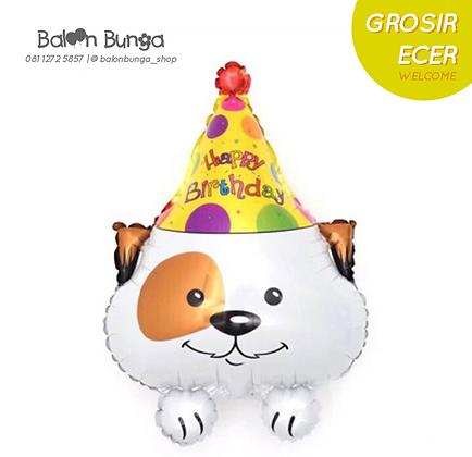 Dog with Hat Birthday