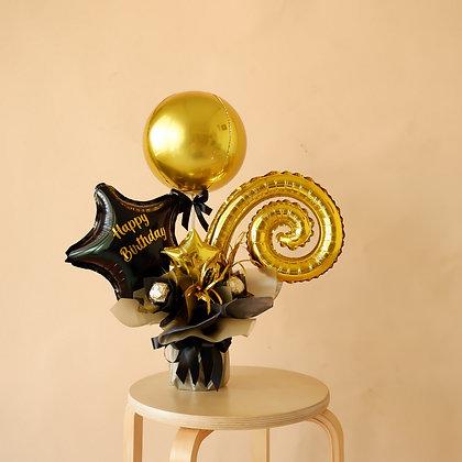 Mini Orbz Foil Bouquet