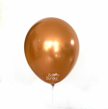"""11"""" Amber Chrome Balloons"""