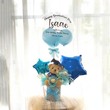 Loving Teddy + Bubble Balloon