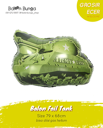 Green Army Tank
