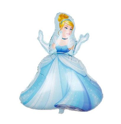 Balon Foil Princess Cinderella