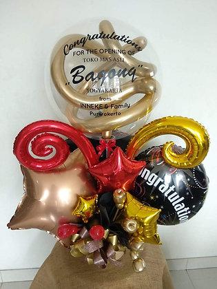 Bouquet Balon Foil