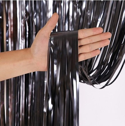 Foil Curtain Black