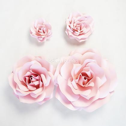 Rose Paper Flower (size on desc.)