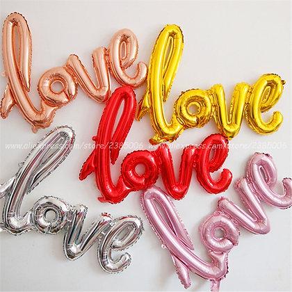 Love Letter Foil Balloon