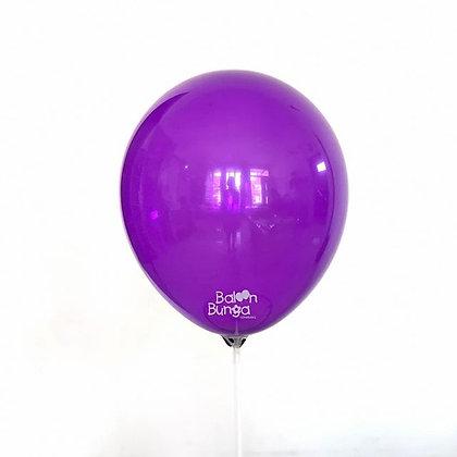 "Balon 12"" Ungu Muda Doff"