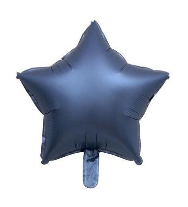 """Balon Foil Bintang 18"""" Ungu Satin"""