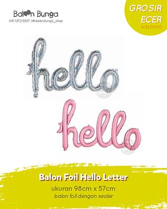 Hello Letter