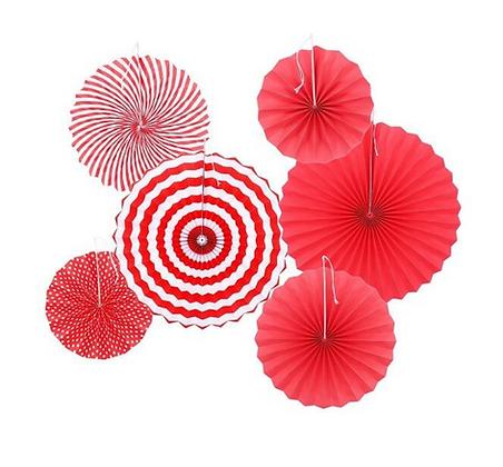 Red Paper Fan