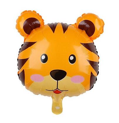 Balon Foil Harimau Chibi