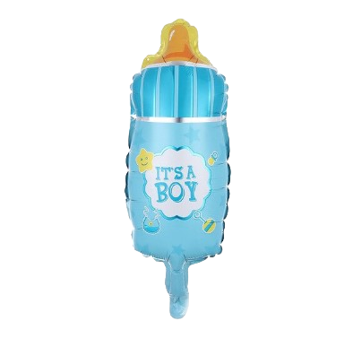 Dot Bottle It's a Boy Mini Foil Ballon
