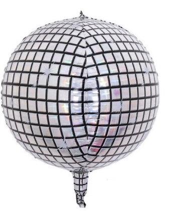 Balon Foil Bola Disco Orbz