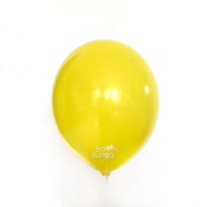 """Balon 12"""" Kuning Doff"""