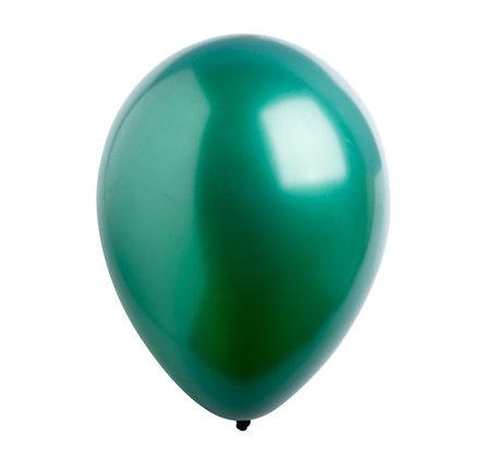 "Balon 12"" Hijau Emerald Metalic"
