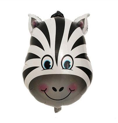 Balon Foil Kepala Zebra