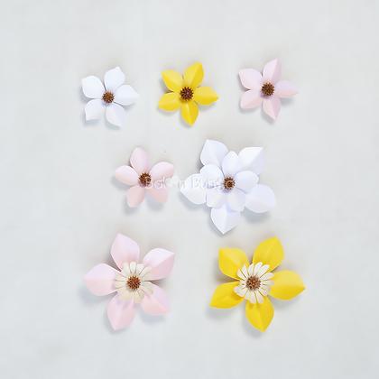 Filler Paper Flower (size on desc.)