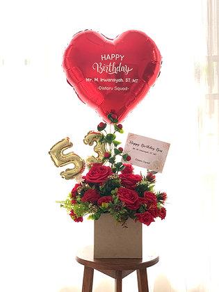 Bouquet 350k