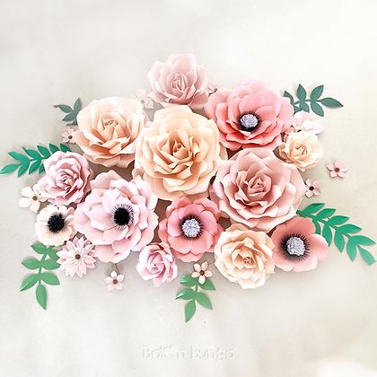 Paper Flower Bundle 1
