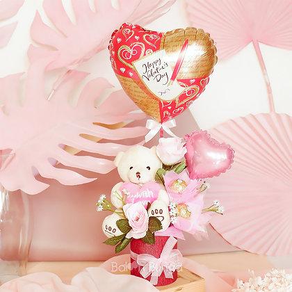 Loving Teddy Valentine