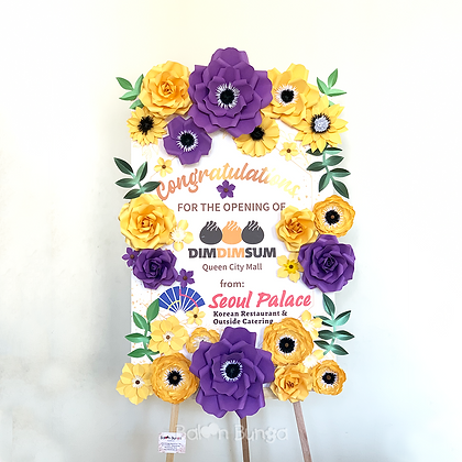 Paper Flower 60x90cm