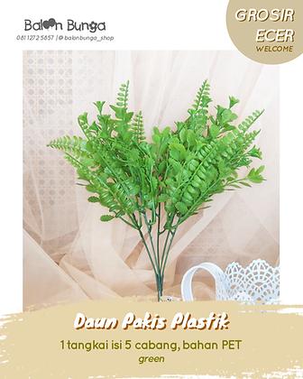 Daun Pakis Plastik