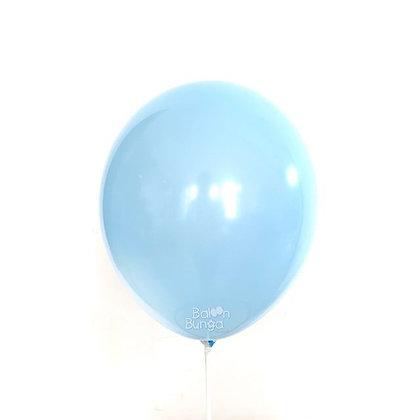"Balon 12"" Biru Muda Doff"