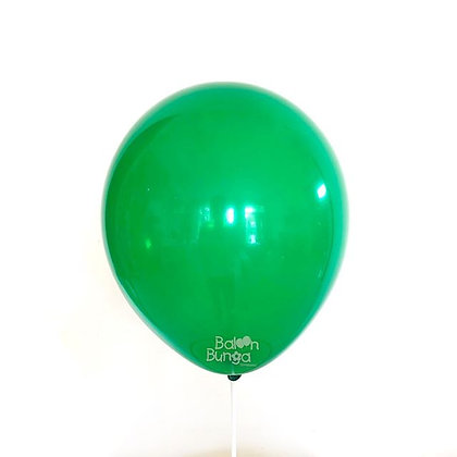 "Balon 12"" Hijau Emerald Doff"