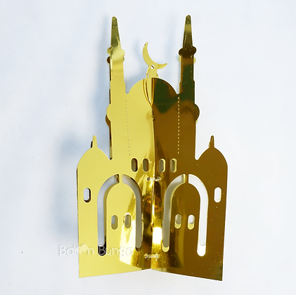 Hiasan Masjid Idul Fitri