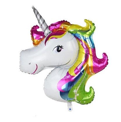 Balon Foil Unicorn Warna-warni