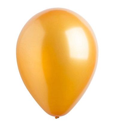 "Balon 12"" Gold Metalic"