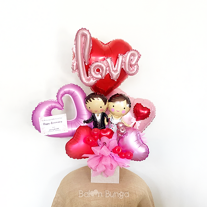 Bouquet Balon Foil