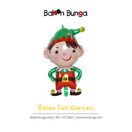 Balon Foil Kurcaci Natal