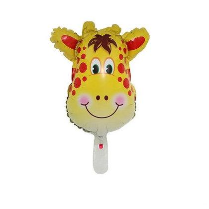 Balon Foil Kepala Jerapah Mini