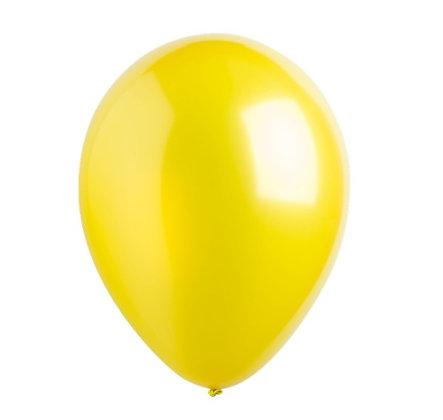 """Balon 12"""" Kuning Metalic"""