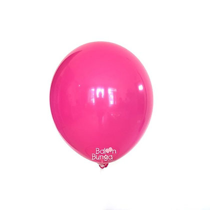 "Balon 12"" Fuschia Doff"