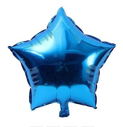 Balon Foil Bintang Biru Tua