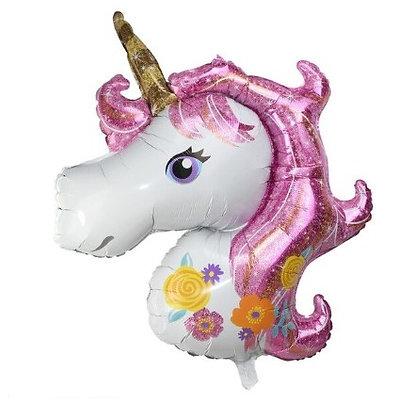 Balon Foil Unicorn Pink