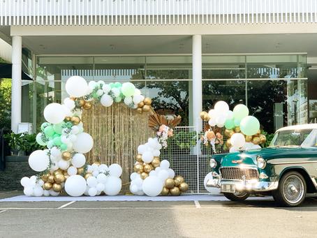 New Normal Wedding Balloon Decoration