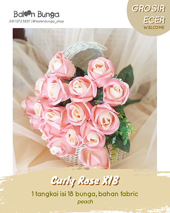 Curly Rose X18