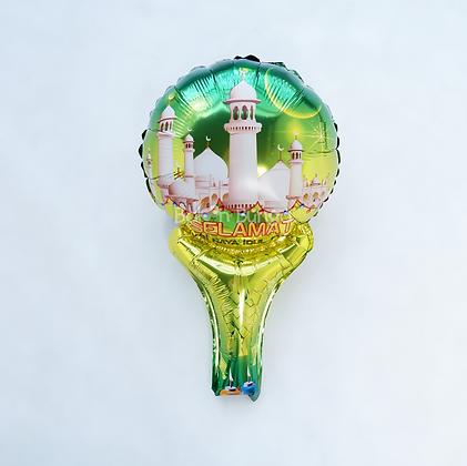 Balon Foil Idul Fitri Raket