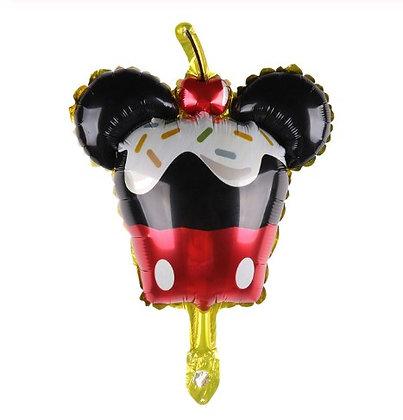 Balon Foil Mini Mickey Cupcake